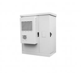 Всепогодные напольные шкафы с электроотсеком ШТВ-2 укомплектованные