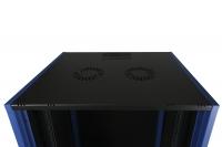 "DR-610521 Datarex Шкаф настенный 19"", 4U 600х600, дверь металл черный"