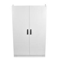 eme-2000.1200.400-2-ip55 отдельный электротехнический шкаф ip55 в сборе (в2000xш1200xг400) eme с двумя дверьми, цоколь 100 мм