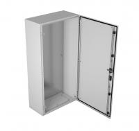emws-1200.1000.300-2-ip66 электротехнический шкаф системный ip66 навесной (в1200xш1000xг300) emws с двумя дверьми