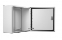 emw-500.500.210-1-ip66 электротехнический распределительный шкаф ip66 навесной (в500xш500xг210) emw c одной дверью