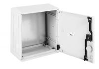 epv-400.400.250-1-ip54 электротехнический шкаф полиэстеровый ip54 антивандальный (в400xш400xг250) epv c одной дверью