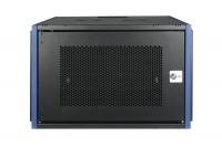 """DR-620521 Datarex Шкаф настенный 19"""", 4U 600х600, дверь перфорация черный"""