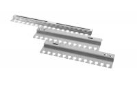 гко-45-100 органайзер кабельный горизонтальный раздвижной 450-1000 мм