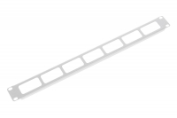 """гко-о-1 органайзер кабельный горизонтальный 19"""" 1u с окнами для кабеля"""