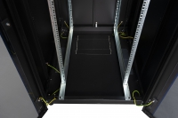 """DR-600210 Datarex Шкаф настенный 19"""", 12U 600х450, дверь стекло серый"""