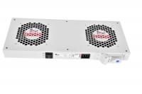 r-fan-2t модуль вентиляторный, 2 вентилятора с терморегулятором