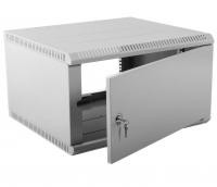 шрн-э-15.500.1 шкаф телекоммуникационный настенный разборный 15u (600х520) дверь металл