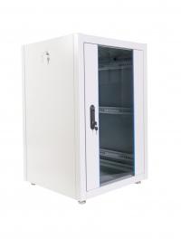 ШТК-Э-42.6.8-13АА Шкаф ЦМО телекоммуникационный напольный ЭКОНОМ 42U (600х800) дверь стекло, дверь металл