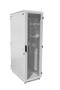 ШТК-Э-48.6.10-44АА Шкаф ЦМО телекоммуникационный напольный ЭКОНОМ 48U (600х1000) дверь перфорированная 2 шт