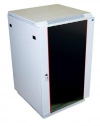 штк-м-27.6.8-1ааа шкаф телекоммуникационный напольный 27u (600x800) дверь стекло