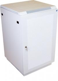 штк-м-27.6.10-4ааа шкаф телекоммуникационный напольный 27u (600x1000) дверь перфорированная
