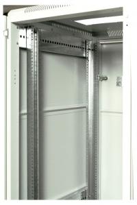 штк-м-22.6.8-44аа шкаф телекоммуникационный напольный 22u (600x800) дверь перфорированная 2 шт.