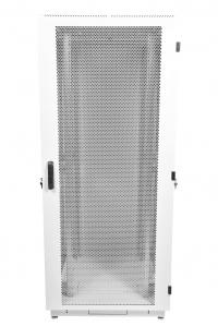 штк-м-42.6.6-44аа шкаф телекоммуникационный напольный 42u (600x600) дверь перфорированная 2 шт.