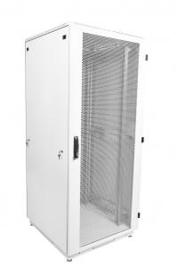 штк-м-42.8.10-4ааа шкаф телекоммуникационный напольный 42u (800x1000) дверь перфорированная