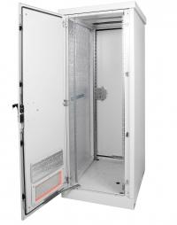 штв-1-24.7.6-43аа шкаф уличный всепогодный напольный 24u (ш700xг600), две двери