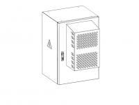 штв-н-18.6.5-кааа-тк шкаф уличный всепогодный настенный укомплектованный 18u (ш600xг500), комплектация тк-ip65