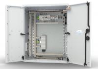 штв-нп-12.6.3-8ааа-т1 шкаф уличный всепогодный настенный укомплектованный 12u (ш600xг300), полиэстер, комплектация t1-ip54