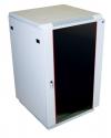 ШТК-М-18.6.6-1ААА Шкаф телекоммуникационный напольный 18U (600x600) дверь стекло