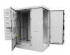 ШТВ-2-18.10.6-К3А3-ТК Шкаф всепогодный напольный укомплектованный 18U (Ш1000xГ600) с эл. отсеком, комплектация ТК-IP54