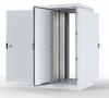 ШТВ-2-12.10.6-43А3 Шкаф уличный всепогодный напольный 12U (Ш1000xГ600) с электроотсеком, три двери