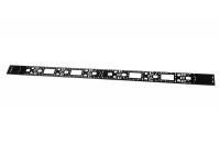вко-сп-мп-42.120 вертикальный кабельный органайзер 42u для шкафов штк-сп и штк-мп